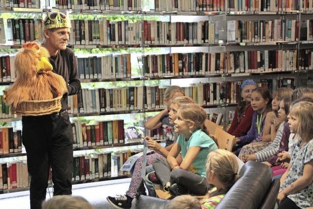 45 Schüler erfüllen Lese-Aktion