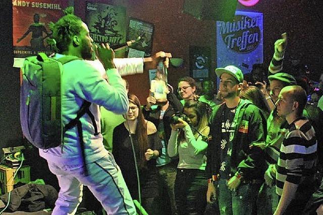 Reggaefeeling im Rockcafé