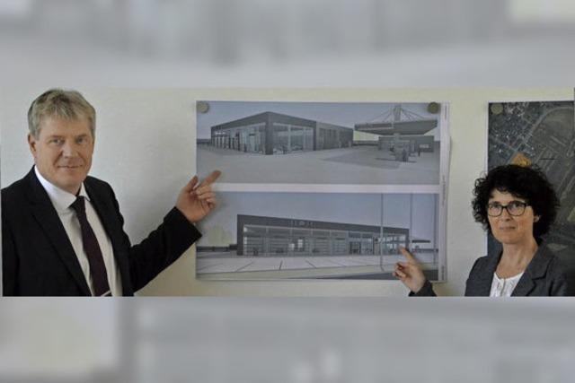 Autohaus Kandziorra plant Neubau im Gewann Roter Brühl