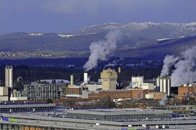 Messe, BMW-Märtin und SC-Stadion sollen bald mit Restwärme der Chemiefabrik Solvay heizen