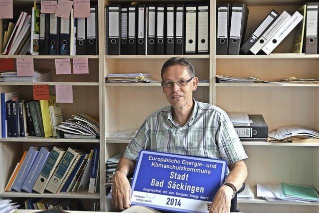Bad Säckingen ist Energiestadt und rückt der Goldmedaille beim European Energy Award näher