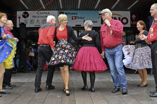 Square Dance beim Slow-Up