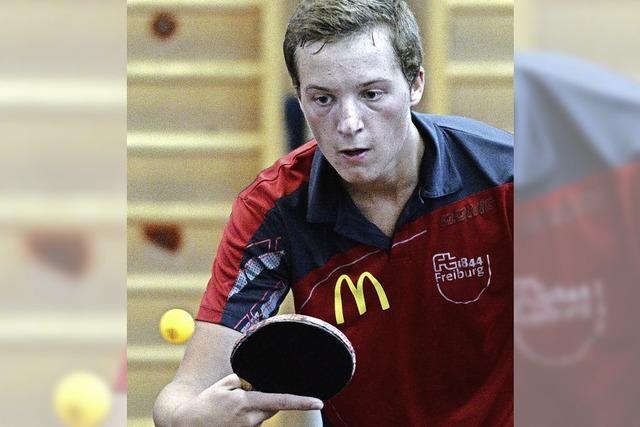 Handarbeit beim Tischtennis