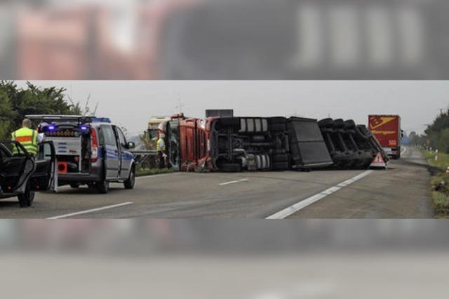 Unfall auf der A 5 durch Übermüdung?