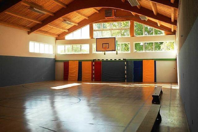 Sporthalle nicht benutzbar – der Boden fault