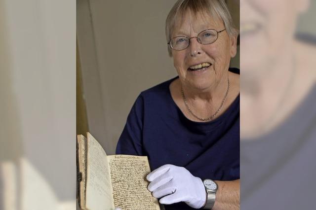 Eine Höhlenforscherin für alte Schrift