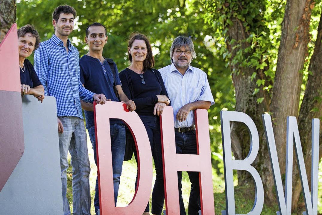 Heidi Jakob-Frey, Philipp Ludwig, Tais...erscheid und Jörg Thietke (von links)   | Foto: ZVG