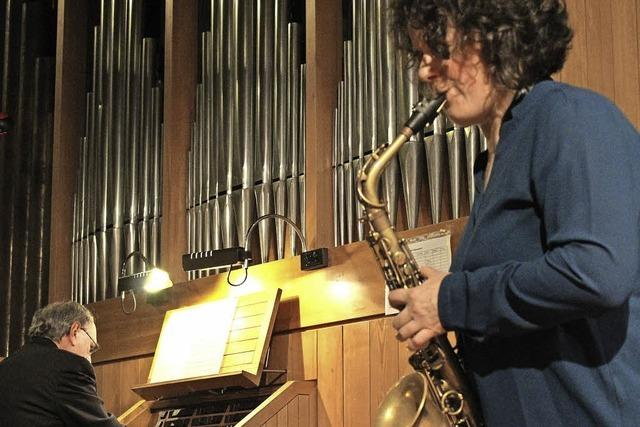 Improvisationen mit Orgel und Saxophon
