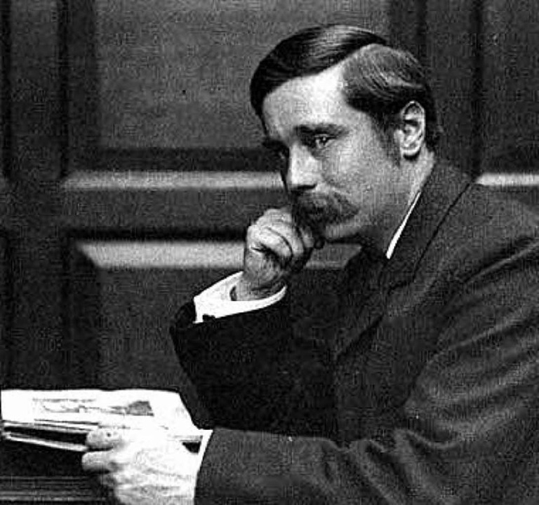 H. G. Wells, ungefähr im Jahr 1890   | Foto: London School of Economics