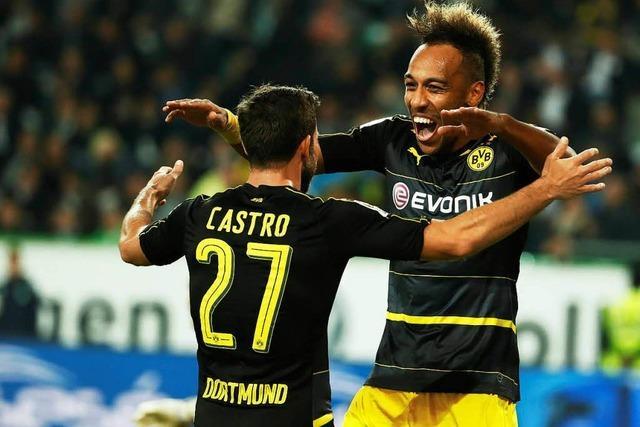 Dortmund für eine Nacht an Tabellenspitze