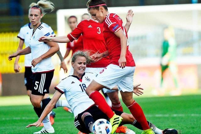 Spielerinnen des SC bilden Sturm im Nationalteam