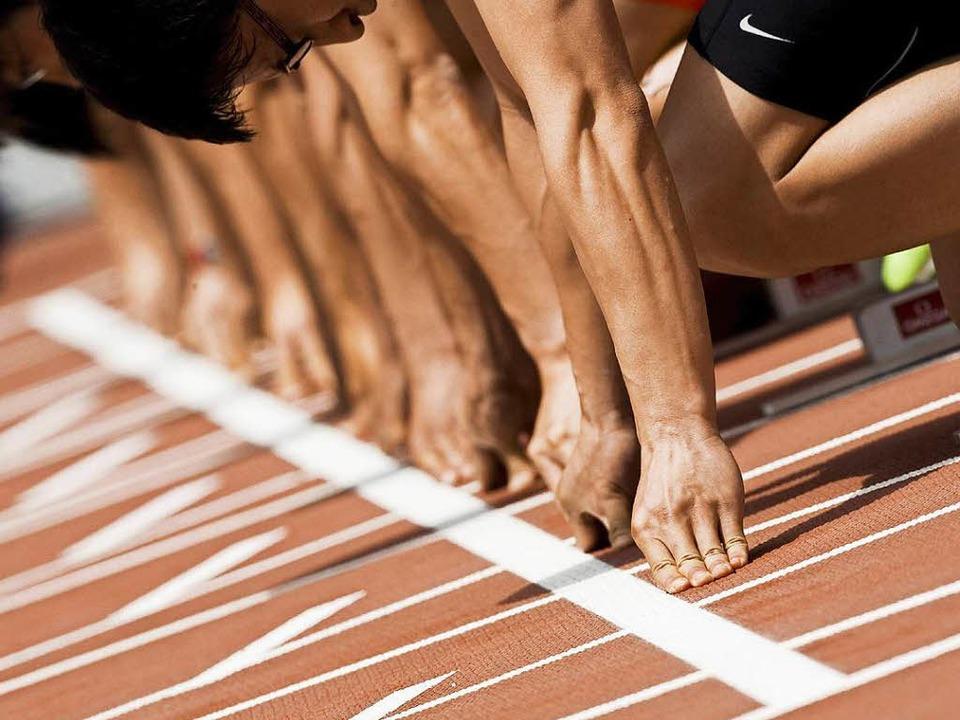 Kann der Start in eine sportliche Karriere auch sauber gelingen? Er kann.    Foto: dpa
