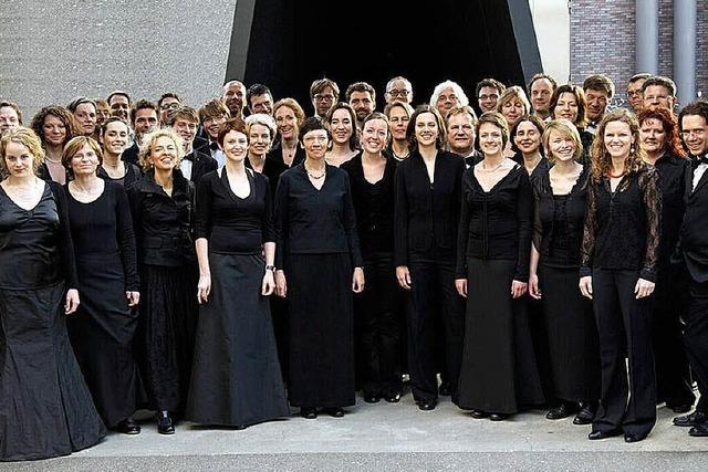 Chorkonzerte in Freiburg, Basel und Straßburg