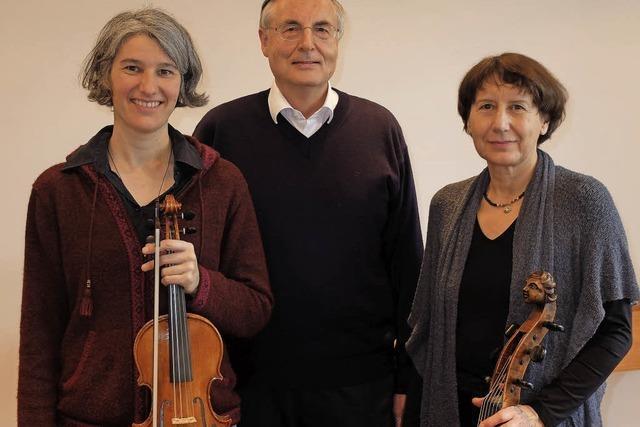 Trio Arco Musicale aus Stuttgart spielen Früh- und Spätbarock