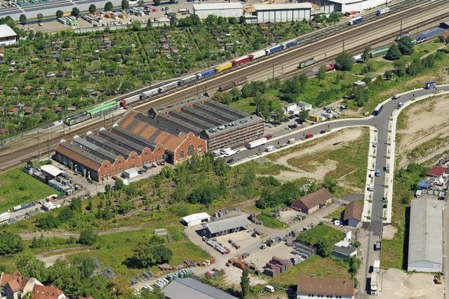 Beim ehemaligen Güterbahnhof Nord sollen 600 Wohnungen entstehen