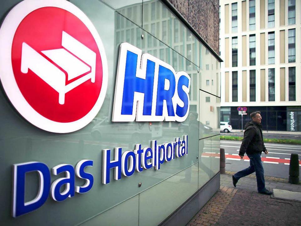 Firmenlogo des Hotel Reservation Service (HRS) in Köln  | Foto: Oliver Berg