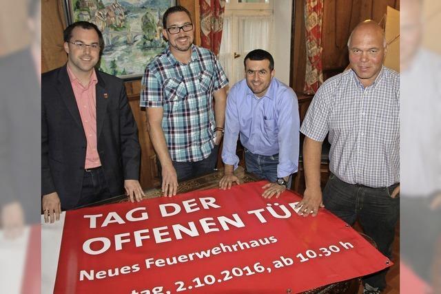 Laufenburg feiert mit der Feuerwehr