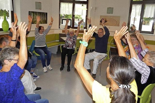 Im Sitzen tanzen