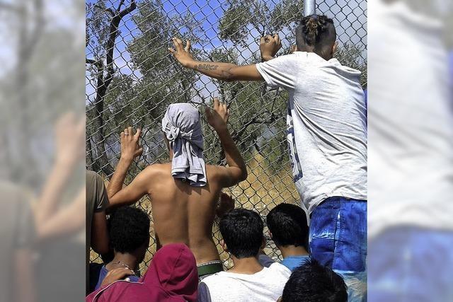 Lage der Flüchtlinge in Griechenland spitzt sich zu