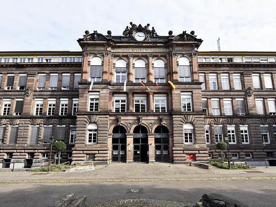 Seit 1891 steht die Schule mitten in der Stadt.  | Foto: Thomas Kunz