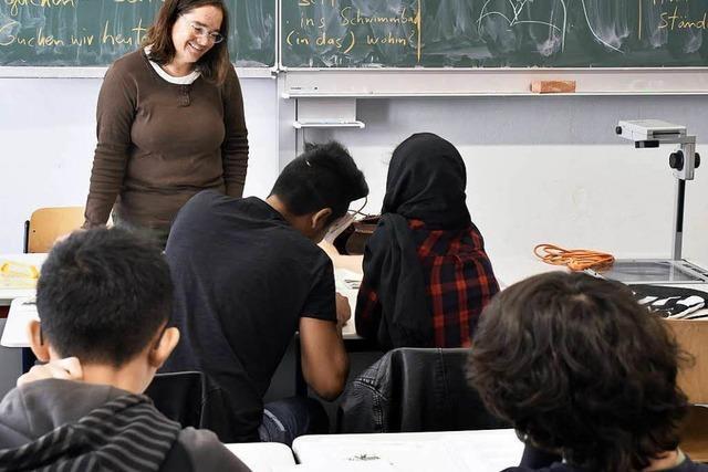 Wie junge Flüchtlinge am Goethe-Gymnasium Deutsch lernen