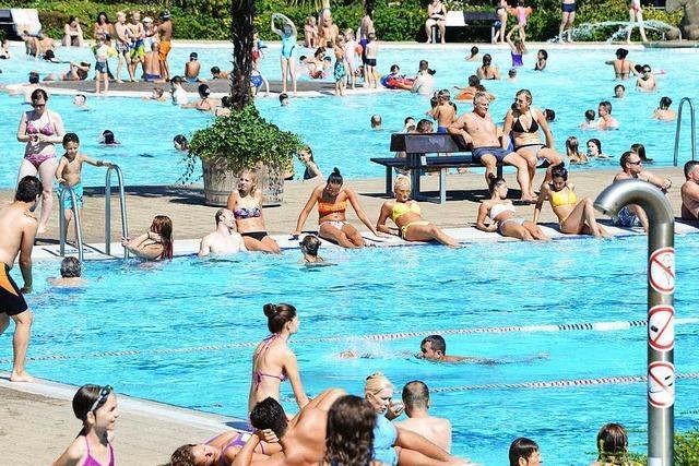 Das Strandbad macht am Wochenende noch mal auf