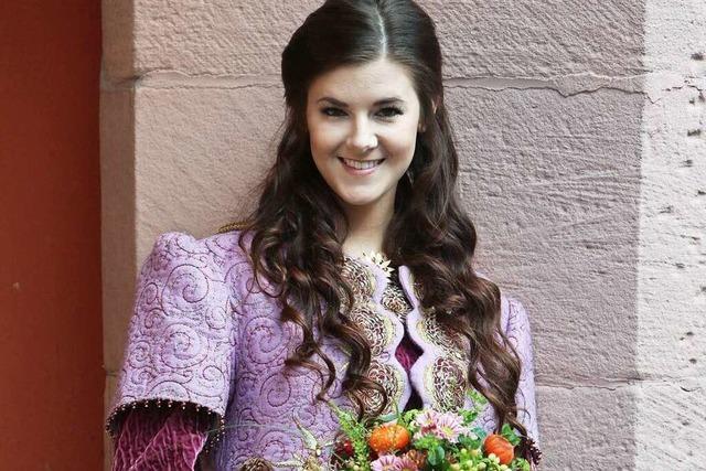 Jessica Neugebauer ist Chrysanthemenkönigin