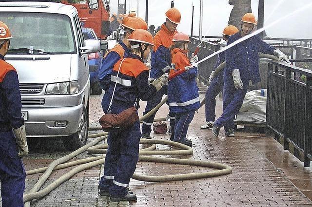 Feuerwehr hilft sich selbst