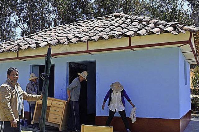 Siebte Gesundheitsstation in den Anden eröffnet