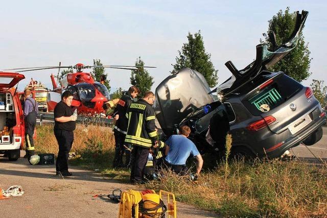 Schwerer Unfall auf der L 113
