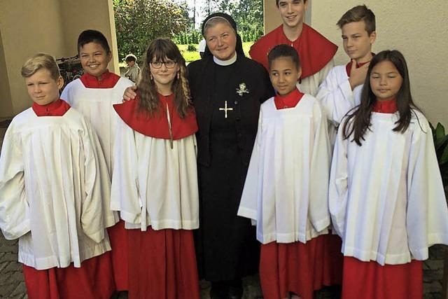 Eine Feier für Schwester Bernarda