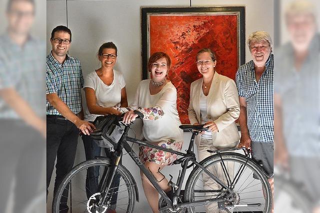 Geld für Fahrradwerkstatt