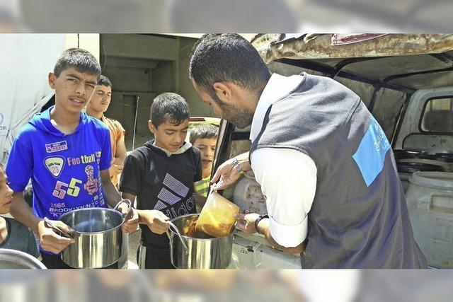 Humanitäre Hilfe in Krisenregionen