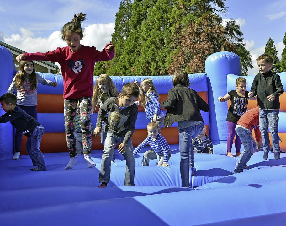Spielen ist angesagt beim Weltkindertag.   | Foto: Michael Bamberger