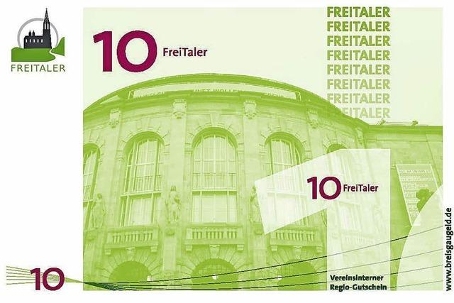 Ein Freitaler für einen Euro