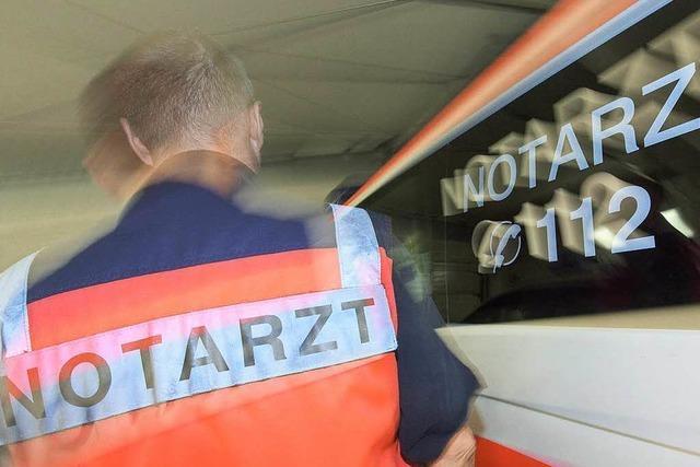 Ausweichmanöver: Motorradfahrer in Lörrach stürzt und verletzt sich