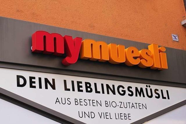 Hier in Freiburg eröffnet ein neuer MyMuesli-Store