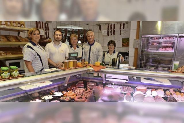 Die Inhaber der Metzgerei Nutto in Herdern gehen zum Jahresende in den Ruhestand