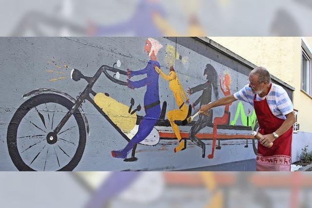 Bötzingens Stretch-Bike verbindet Nationalitäten
