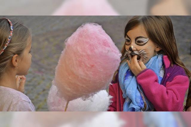 Süßes Marktleben