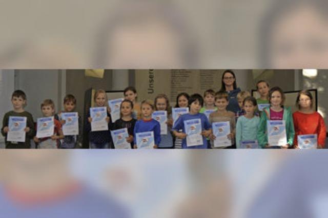 Stadtbibliothek belohnt junge Vielleser