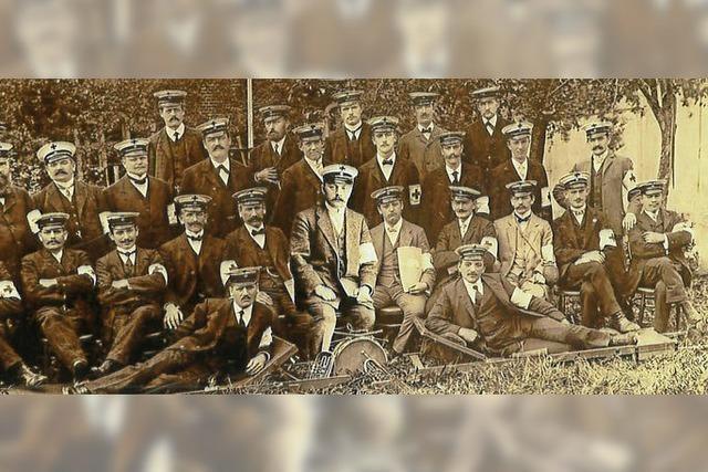 Sanitätskolonnen schon vor dem Ersten Weltkrieg
