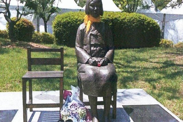 Bronzefigur löst diplomatischen Ärger mit Japan aus