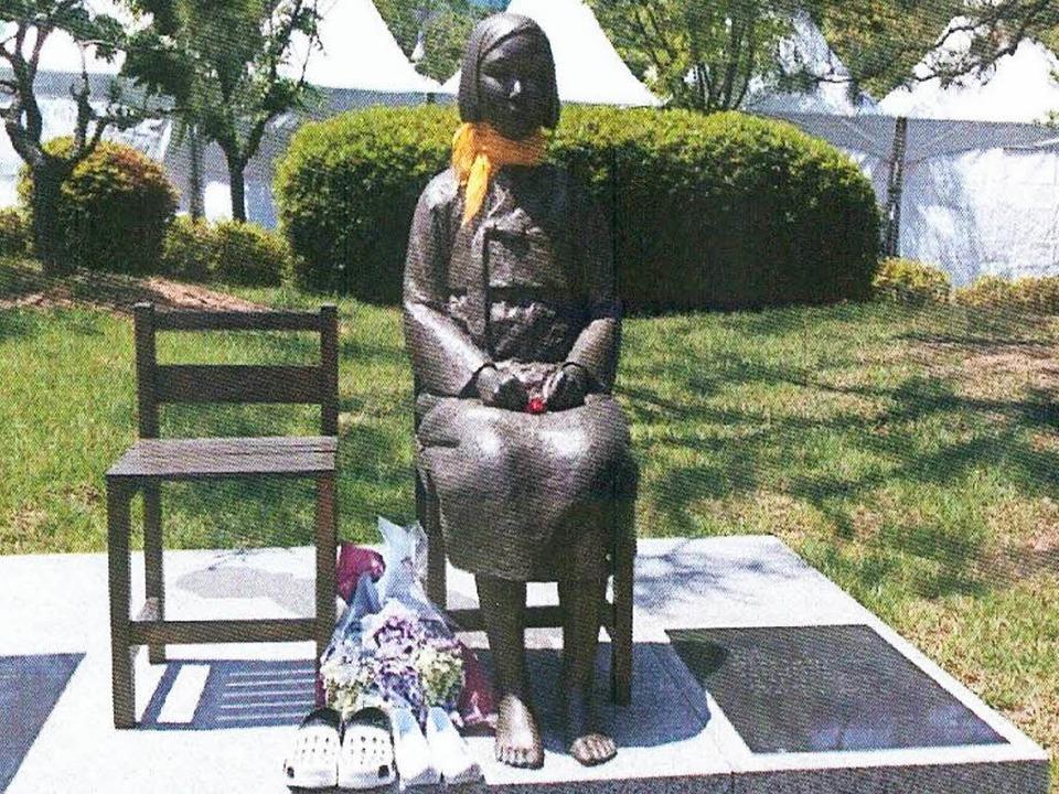 Girl of Peace - Statue einer Trostfrau... in Freiburg aufgestellt werden sollte  | Foto: privat