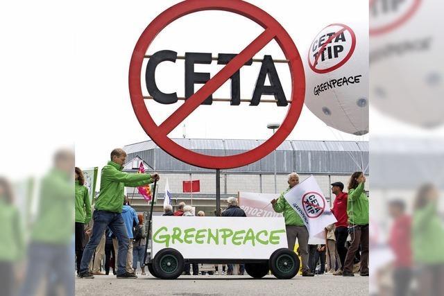 Karlsruhe verhandelt im Oktober über Ceta