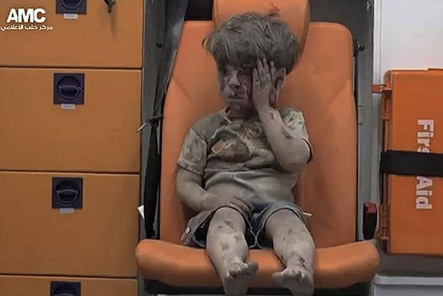 Kleiner Junge bittet Obama, Omran zu helfen