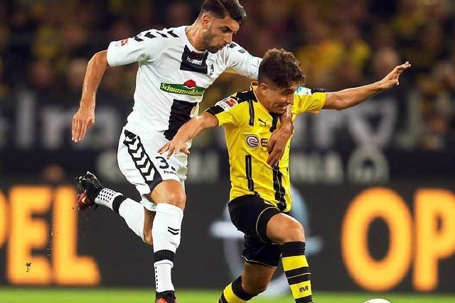 Trotz couragierter Leistung: SC Freiburg verliert in Dortmund 1:3