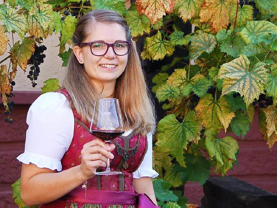 Die neue Ortenauer Weinkönigen: Hanna Mußler aus Berghaupten  | Foto: hrö