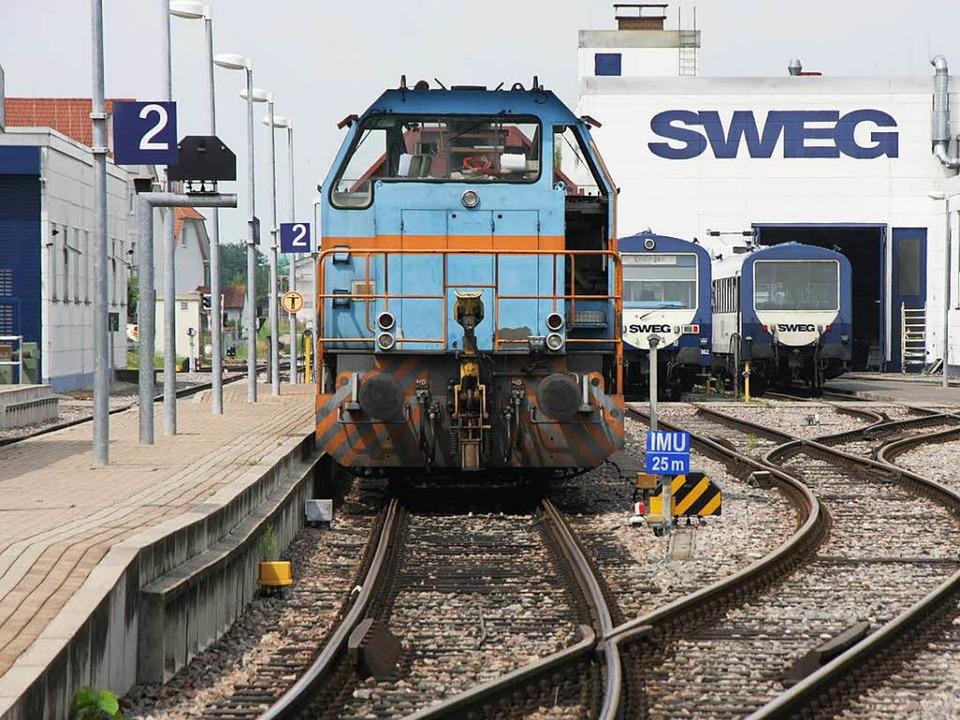 Die Diesel-Ära bei der Kaiserstuhlbahn...en, doch die Zukunft wirft Fragen auf.  | Foto: Martin Wendel