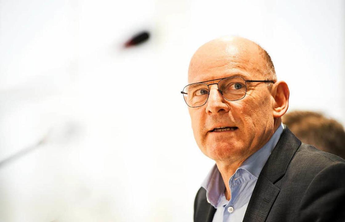 Verkehrsminister Winfried Hermann  | Foto: Daniel Naupold